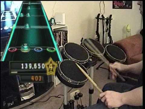 Guitar Hero 5 Expert Drums - Feel Good Inc. FC 100%