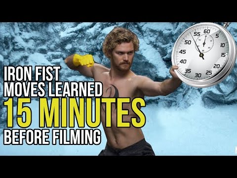 Iron Fist: Finn Jones Learned His Moves 15 Minutes Before Filming