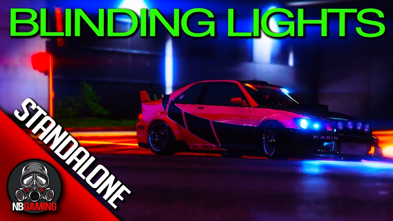 The Weeknd - Blinding Lights - Shot for Shot GTA5 Remake (Stand Alone Without Picture-in-Picture)