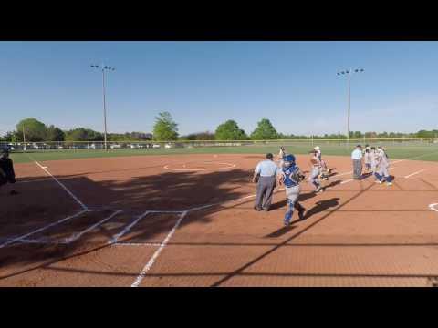 MCHS vs  Central Magnet School Game 1 4/25/2017