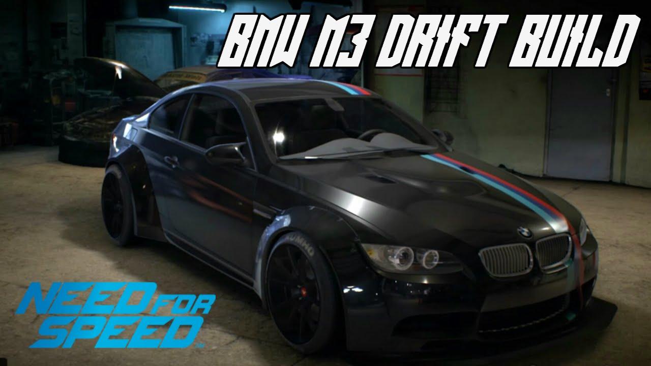 Need For Speed 2015 Bmw M3 E92 Customisation Drifting Youtube