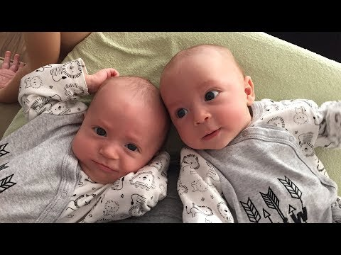 Funny Twin Babies Talking Compilation (2018)