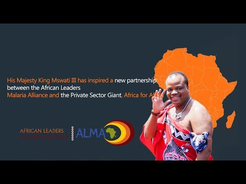 His Majesty King Mswati III Inspired a New Partnership
