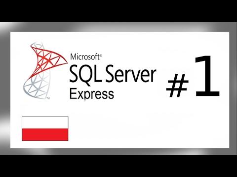 MS SQL #1 (Omówienie, pobranie, tworzenie bazy i tabeli)
