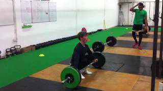 Strength training for Sprinters - Hang Snatch