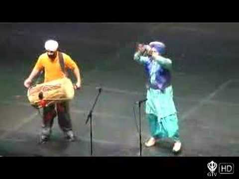 Malkit Singh Live Performance Part 1 – Bruin Bhangra 2006