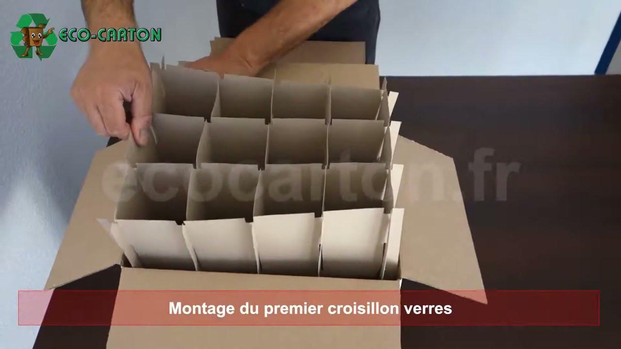 Montage Croisillons Verres Et Intercalaire
