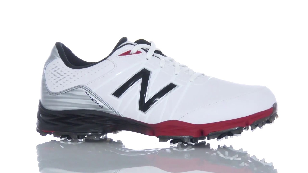 a9c9b26d84650 New Balance NBG2004 Golf Shoes at the 2017 PGA Show - YouTube