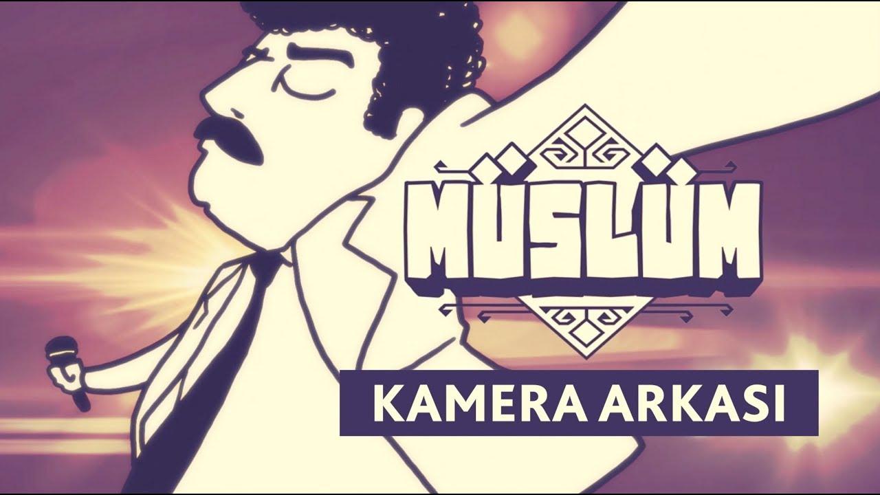 Müslüm Gürses Animasyon Kamera Arkasi Official Koff Youtube