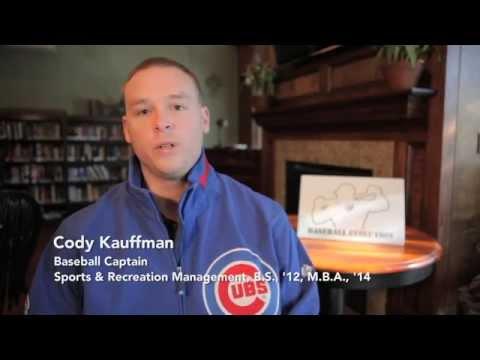 Sports Management, Cody Kauffman '12
