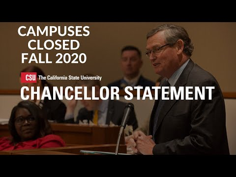 California State Universities To Cancel Fall 2020 Semester In Person Class! What Should You Do Now?