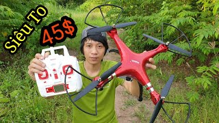 Flycam siêu to khổng lồ , Quay phim 1080 Giá Rẻ 1Triệu1 - Drone cheap 45$ - KimGuNi