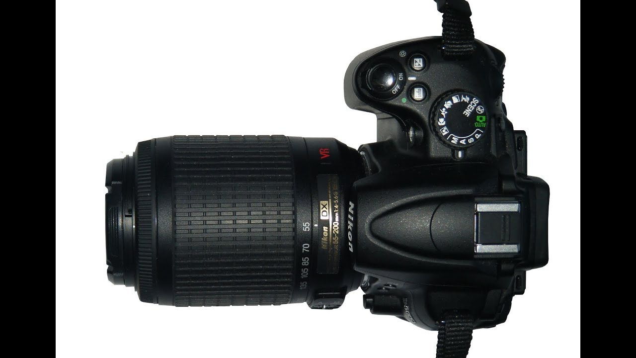 Nikon D5000 and 55-200 VR kit lens - hands on review
