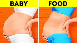 15 FUNNY THINGS NO ONE TELL YOU ABOUT PREGNANCY    GIRLY RELATABLE MOMENTS