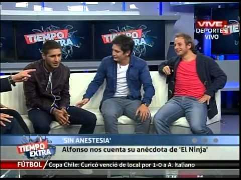 Sin Anestesia en Tiempo Extra: Alfonso Parot y su personaje de Ninja