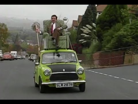 mr bean fahrt auf dem autodach youtube. Black Bedroom Furniture Sets. Home Design Ideas