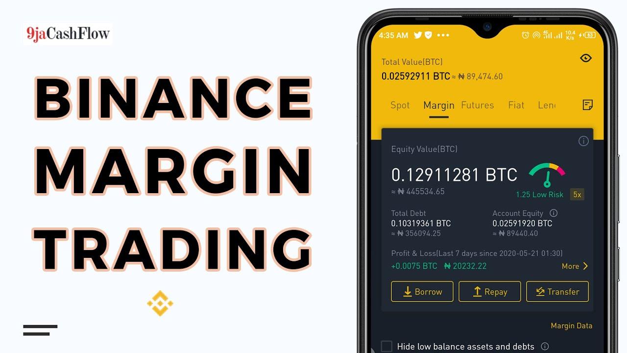 How I do Margin Trade on Binance Exchange 1
