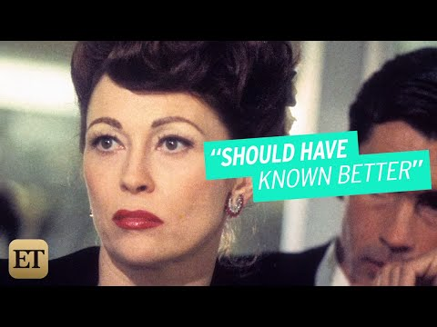 Faye Dunaway Regrets Playing Joan Crawford in 'Mommie Dearest'