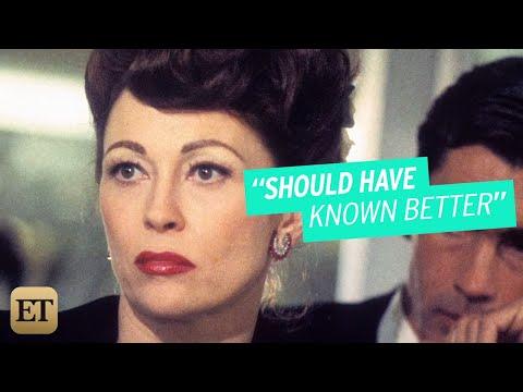 Faye Dunaway Regrets Playing Joan Crawford in 'Mommie Dearest'