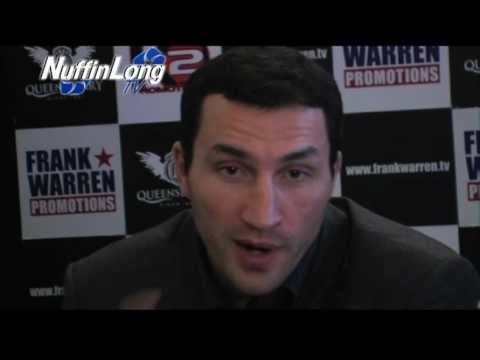 Wladimir Klitschko talks David Haye, Derek Chisora, and why he fights in Germany