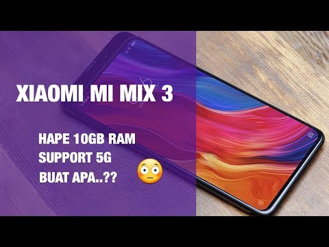 Mi Mix 3 Pake 10GB RAM dan Support 5G?? Huawei Mate 20 Pro Punya Kamera 40MP!