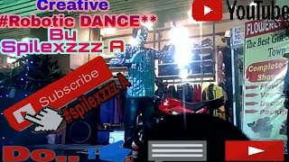 Robotic_popping_Dance|Mask|Aman_Spilexzzz| Abhi mujh main kahin_Amardeep Sir|
