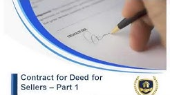 Contract For Deed For Sellers Minnesota