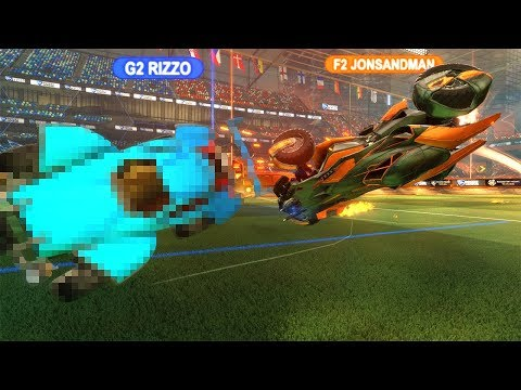 1V1ING WITH THE WORST ROCKET LEAGUE SETTINGS