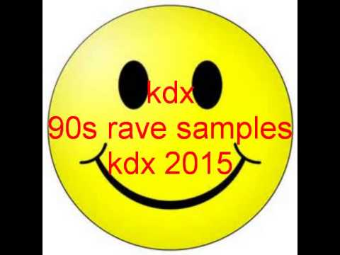 kdx 90s rave samples