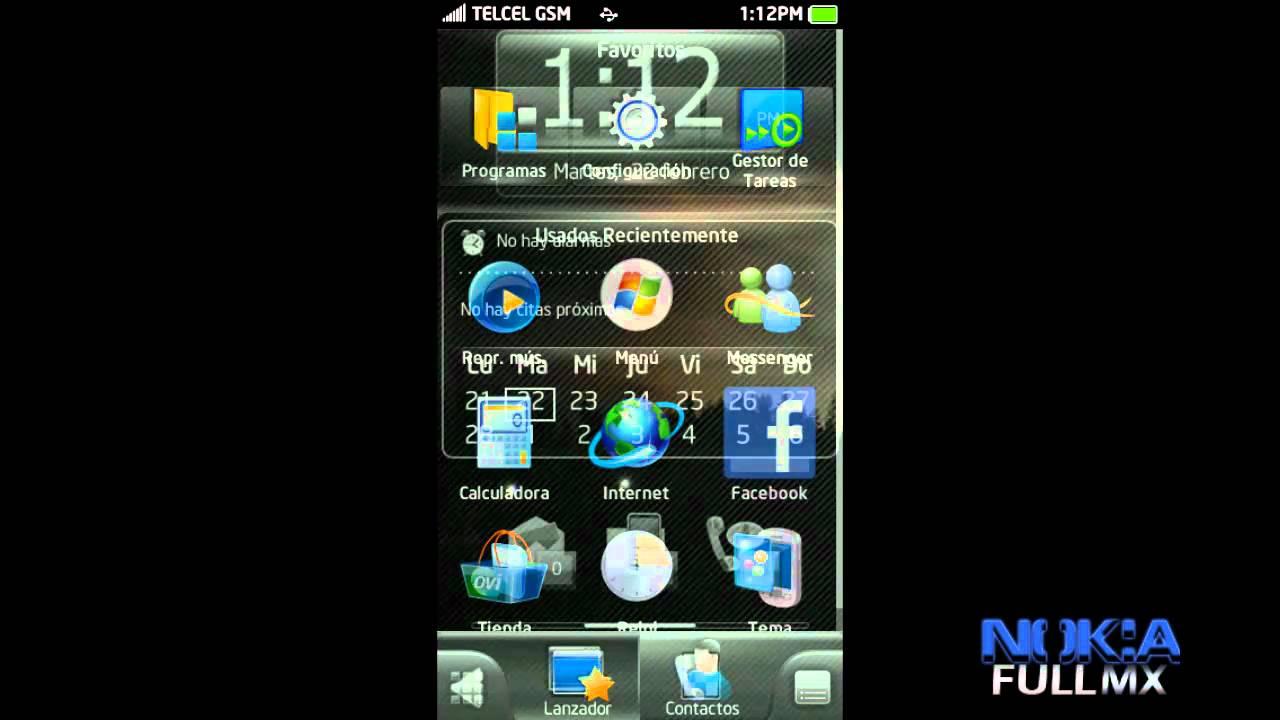 SPB Mobile Shell para Nokia / N97 / X6