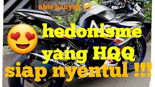 Modifikasi Ninja 250 fi | simple elegan tapi hedon !!!!