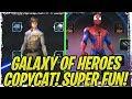 SWGoH Copycat Fun Game! NO MODS and Diverse Meta!   Marvel Strike Force