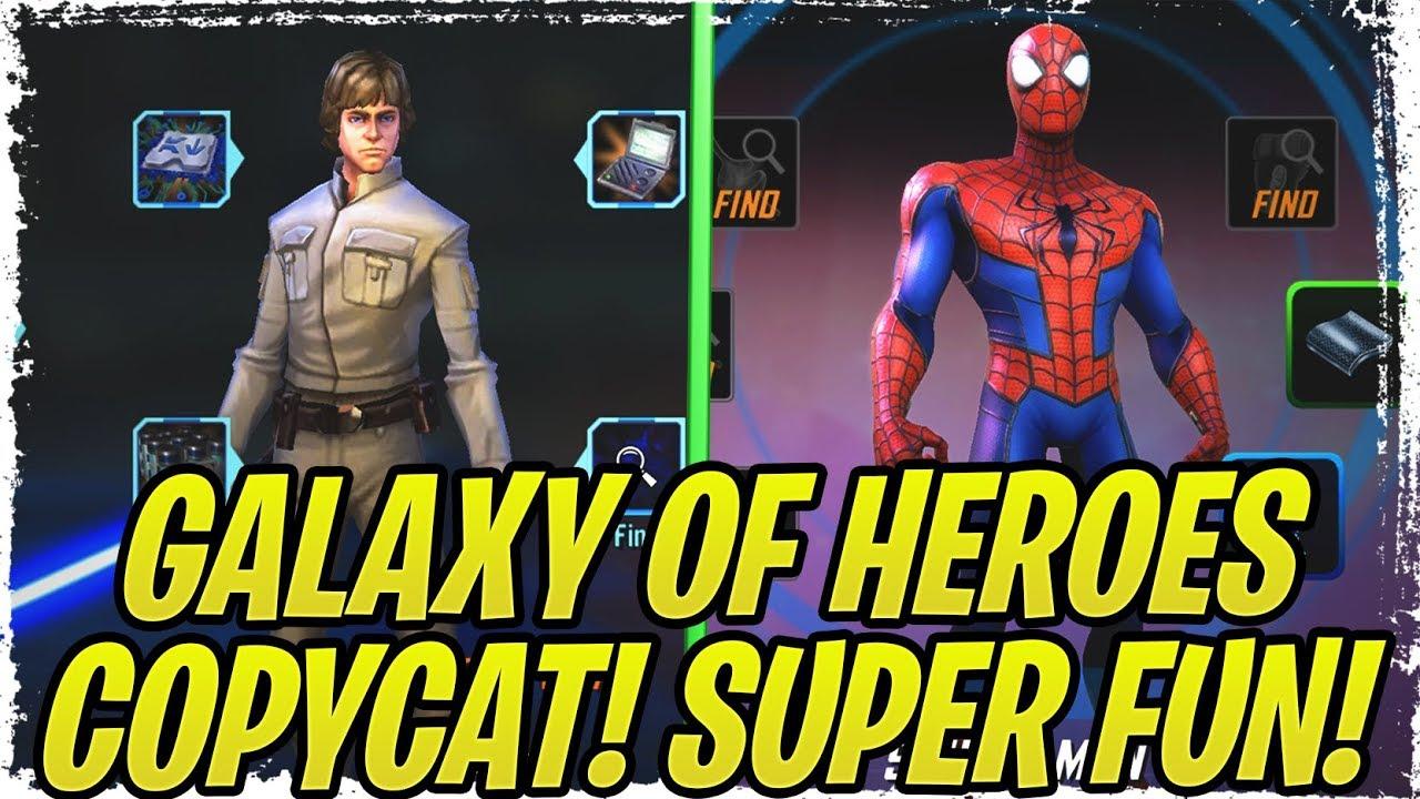 SWGoH Copycat Fun Game! NO MODS and Diverse Meta! | Marvel