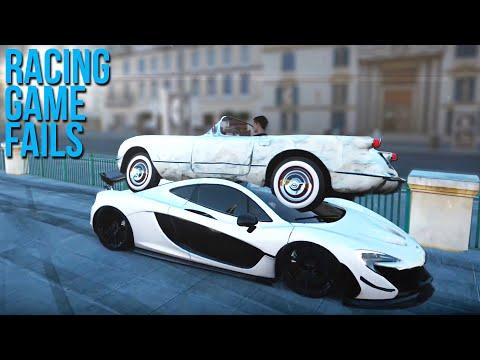 Racing Game FAILS Compilation #2  