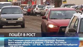 Авторынок в Самарской области вырос на 10,5 %
