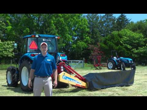 Disc Mowers – Key Points of New Holland's H6000 Series