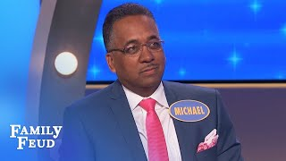 WACKY ANSWER! Steve Harvey LOST FOR WORDS! | Family Feud