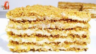 БЕЗ ДУХОВКИ и ПЕЧЕНЬЯ !!!ОБАЛДЕННЫЙ торт ПЛОМБИР. Просто и Вкусно!