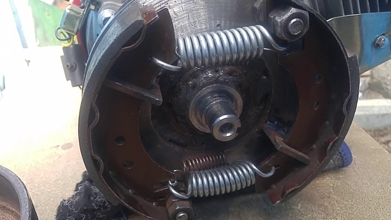 Двигатель и сцепление своими руками