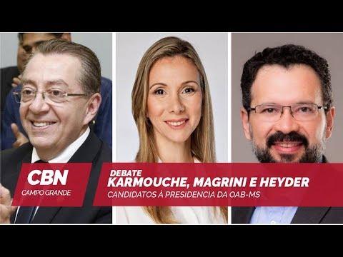 Debate com candidatos à presidência da OAB/MS (12/11/2018)