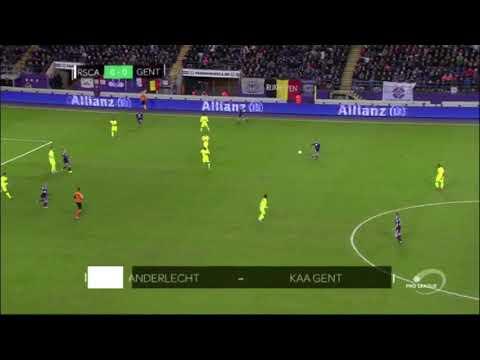 Samenvatting RSC Anderlecht - KAA Gent (1-0)