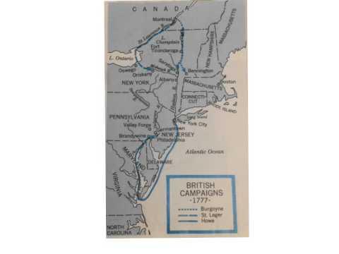 British Campaigns of 1777