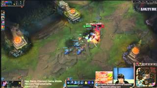 Highlight QTV Yasuo vs Swain lever 1