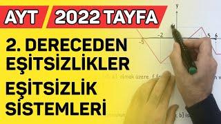 2. DERECEDEN EŞİTSİZLİKLER / EŞİTSİZLİK SİSTEMLERİ AYT2021