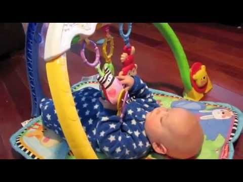 The Baby reviews the Fisher Price Tracking Lights Musical Gym