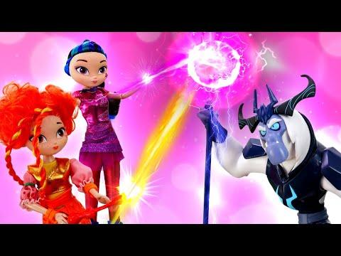 Куклы Сказочный Патруль - Игры для девочек - Волшебницы против Морока