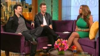 Nick Carter & Jordan Knight en The Wendy Williams Show - 30 Abril 2014