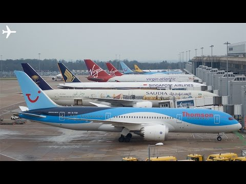 Manchester Airport Ground Operations Terminal 1&2 Part 2 February 2016
