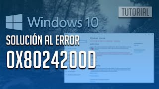 Fix windows update error 0x8024200d in windows 10 3