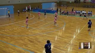 6日 ハンドボール女子 国体記念体育館Dコート 湯沢×明光学園 2回戦 1